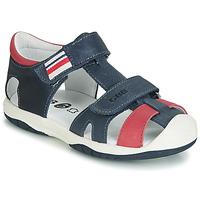 Chaussures Garçon Sandales et Nu-pieds GBB BERTO Marine / rouge