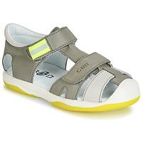 Chaussures Garçon Sandales et Nu-pieds GBB BERTO Gris / jaune