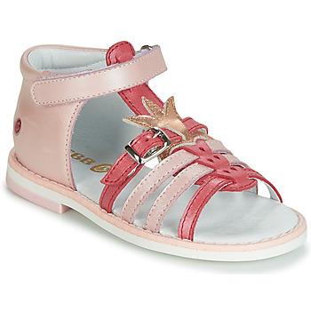 Chaussures Fille Sandales et Nu-pieds GBB CARETTE Rose