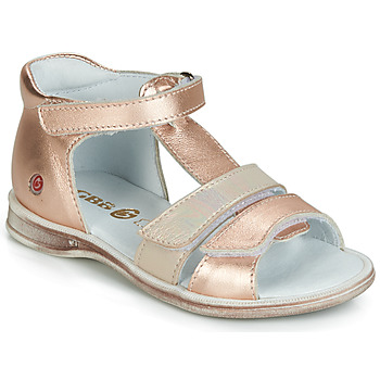 Chaussures Fille Sandales et Nu-pieds GBB NAVIZA VTE OR-ROSE DPF/LOLA
