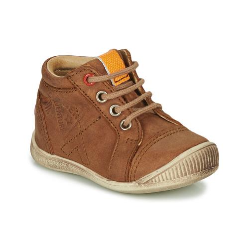 Garçon Gbb Montantes Baskets Chaussures Taravi Marron RA35qL4j