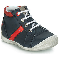 Chaussures Garçon Baskets montantes GBB TARAVI Marine / Rouge