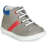 Chaussures Garçon Baskets montantes GBB FOLLIO Gris / Bleu