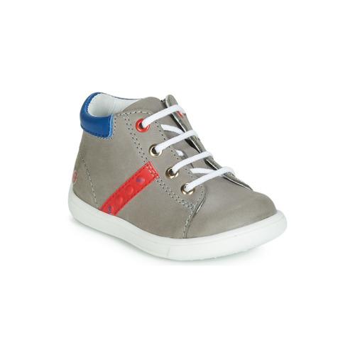 Gbb Montantes Chaussures Follio Garçon Baskets GrisBleu Iybf7Yvm6g