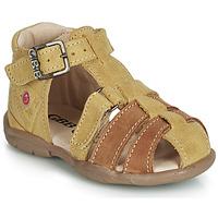 Chaussures Garçon Sandales et Nu-pieds GBB PRIGENT Moutarde