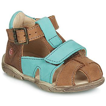 Chaussures Garçon Sandales et Nu-pieds GBB SEROLO Marron / Bleu