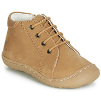Chaussures Garçon Baskets montantes GBB FREDDO Cognac