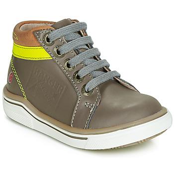 Chaussures Garçon Baskets montantes GBB QUITO Noir