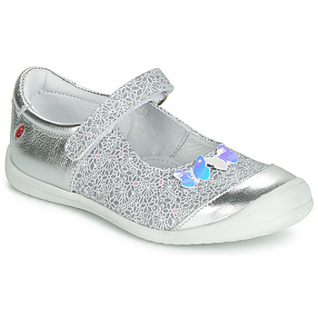 9b33a0b347950 Chaussures Fille Ballerines   babies GBB SACHIKO Argenté