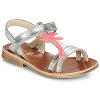 Chaussures Fille Sandales et Nu-pieds GBB SAPELA Argenté