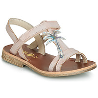 Chaussures Fille Sandales et Nu-pieds GBB SAPELA VTS ROSE-ARGENT DPF/COCA