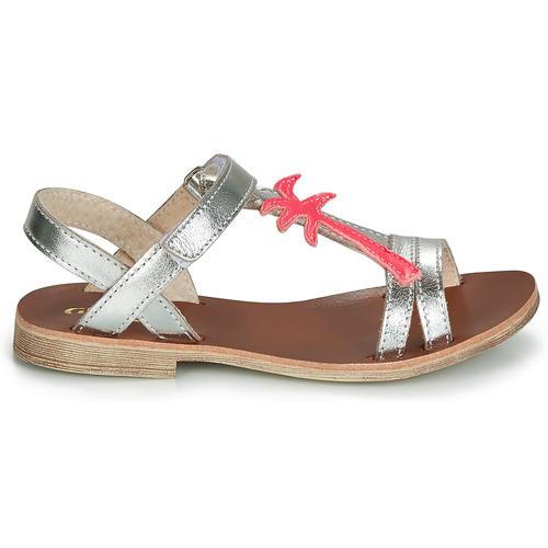 Sapela Et pieds ArgentéRose Nu Fille Chaussures Gbb Sandales MSzpUV