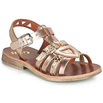 Chaussures Fille Sandales et Nu-pieds GBB FANNI Rose gold / Doré