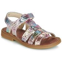 Chaussures Fille Sandales et Nu-pieds GBB KATAGAMI TTS ROSE MULTICO DPF/2794