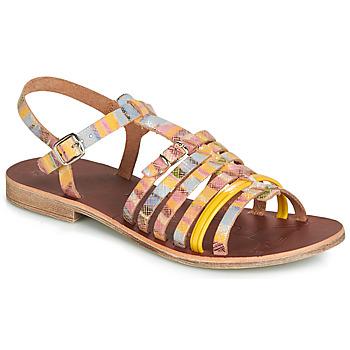 Chaussures Fille Sandales et Nu-pieds GBB BANGKOK Multico / Jaune