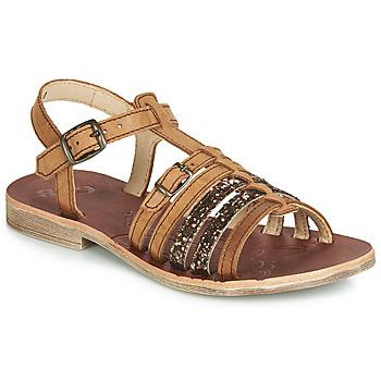 Chaussures Fille Sandales et Nu-pieds GBB BANGKOK Cognac