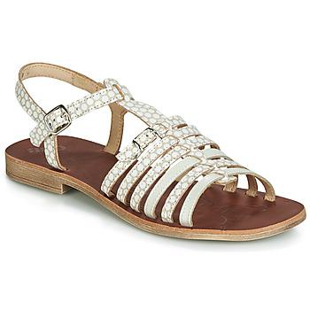 Chaussures Fille Sandales et Nu-pieds GBB BANGKOK Beige / Blanc