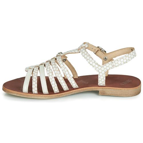 Et Bangkok pieds Chaussures Sandales Fille Gbb Nu BeigeBlanc wOPnk80