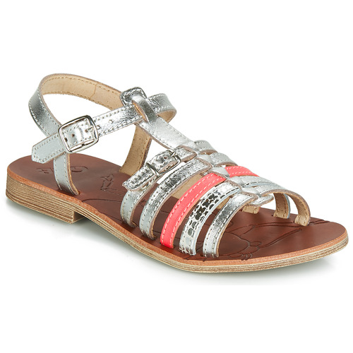 Chaussures Fille Sandales et Nu-pieds GBB BANGKOK Argenté