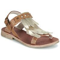 Chaussures Fille Sandales et Nu-pieds GBB ACARO VTC FAUVE-OR-BRIQUE DPF/COCA
