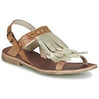 Chaussures Fille Sandales et Nu-pieds GBB ACARO Marron / Doré