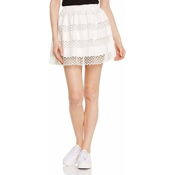 Vêtements Femme Jupes Suncoo FLEUR Blanc