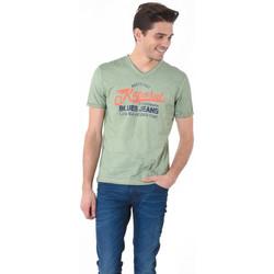 Vêtements Homme T-shirts manches courtes Kaporal Tee-Shirt Homme Rena Vert Vert