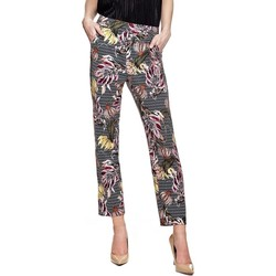 Vêtements Femme Pantalons fluides / Sarouels Guess Pantalon Femme Helen Floral Géométrique 594