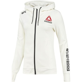 Vêtements Femme Sweats Reebok Sport Sweat à capuche UFC Fight Night Blank Walkout Blanc / Noir