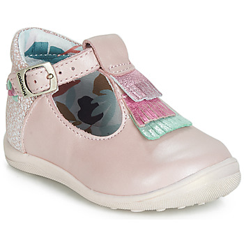 Chaussures Fille Ballerines / babies Catimini BIMA Rose