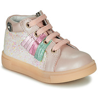 Chaussures Fille Baskets montantes Catimini BRITA Rose