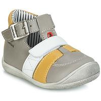 Chaussures Garçon Baskets montantes Catimini TIMOR Gris / Moutarde