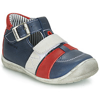 Chaussures Garçon Baskets montantes Catimini TIMOR VTE MARINE-ROUGE DPF/KIMBO