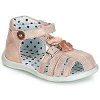 Chaussures Fille Sandales et Nu-pieds Catimini VANUA Rose / Doré