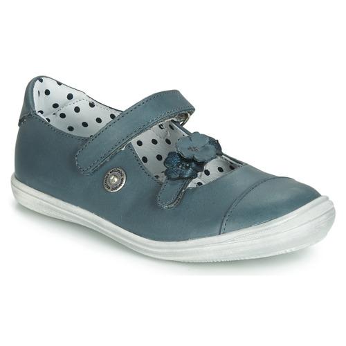 Chaussures Fille Ballerines / babies Catimini MALANG Bleu