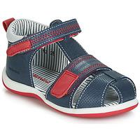 Chaussures Garçon Sandales et Nu-pieds Catimini BALIMO Marine / Rouge