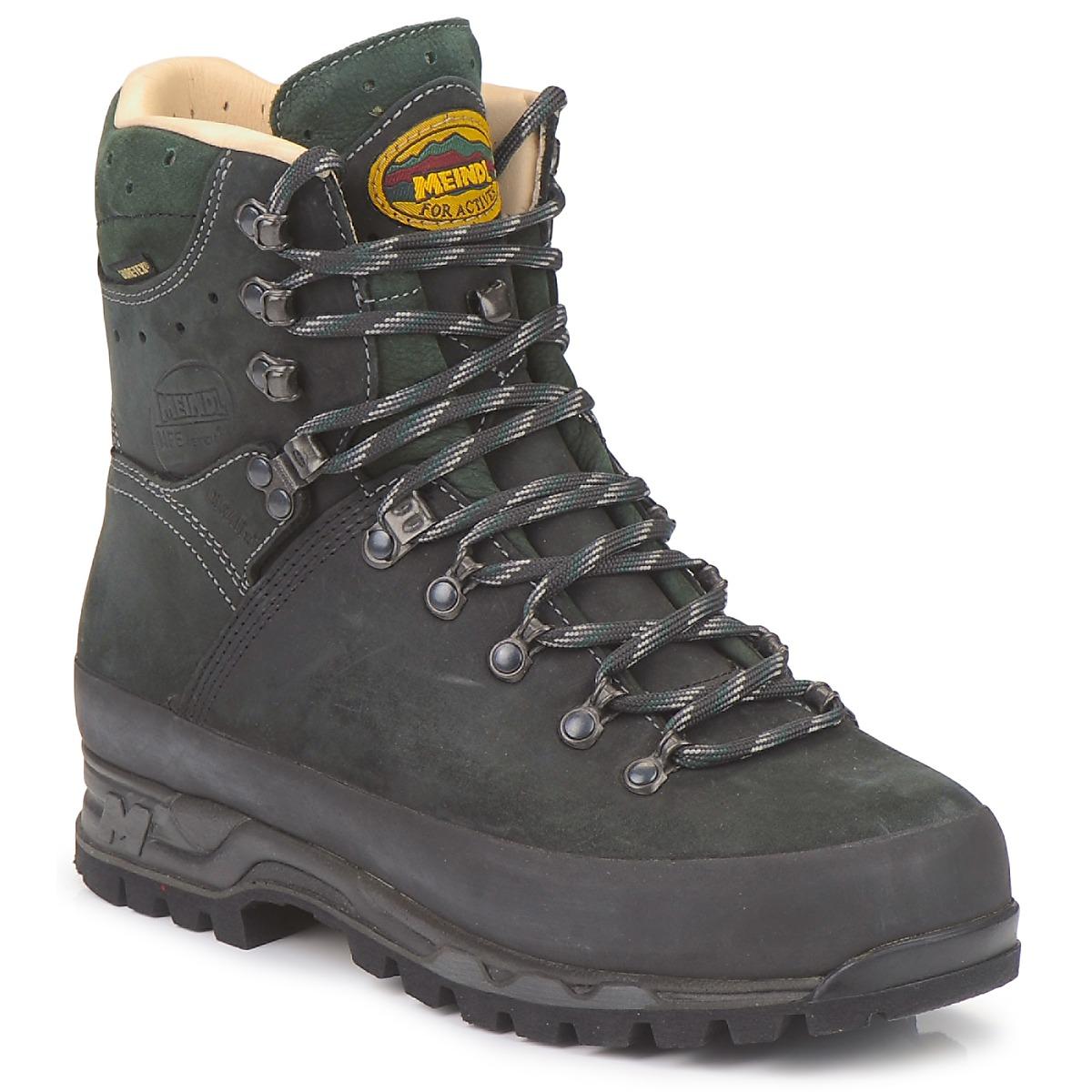 Chaussures-de-randonnee Meindl ISLAND MFS ACTIVE GTX Anthracite / Vert