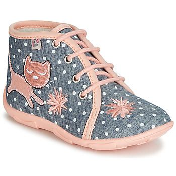 Chaussures Fille Chaussons GBB MERMIDA TTX GRIS-ROSE DTX/AMIS