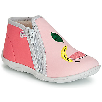 Chaussures Fille Chaussons GBB FERNANDA TTX ROSE-CORAIL DTX/AMIS