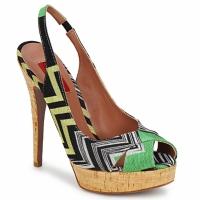Chaussures Femme Sandales et Nu-pieds Missoni RM71 Vert