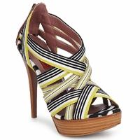 Chaussures Femme Sandales et Nu-pieds Missoni RM20 Jaune / Blanc