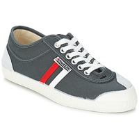 Chaussures Homme Baskets basses Kawasaki RETRO CORE Gris / Rouge / Blanc rayé