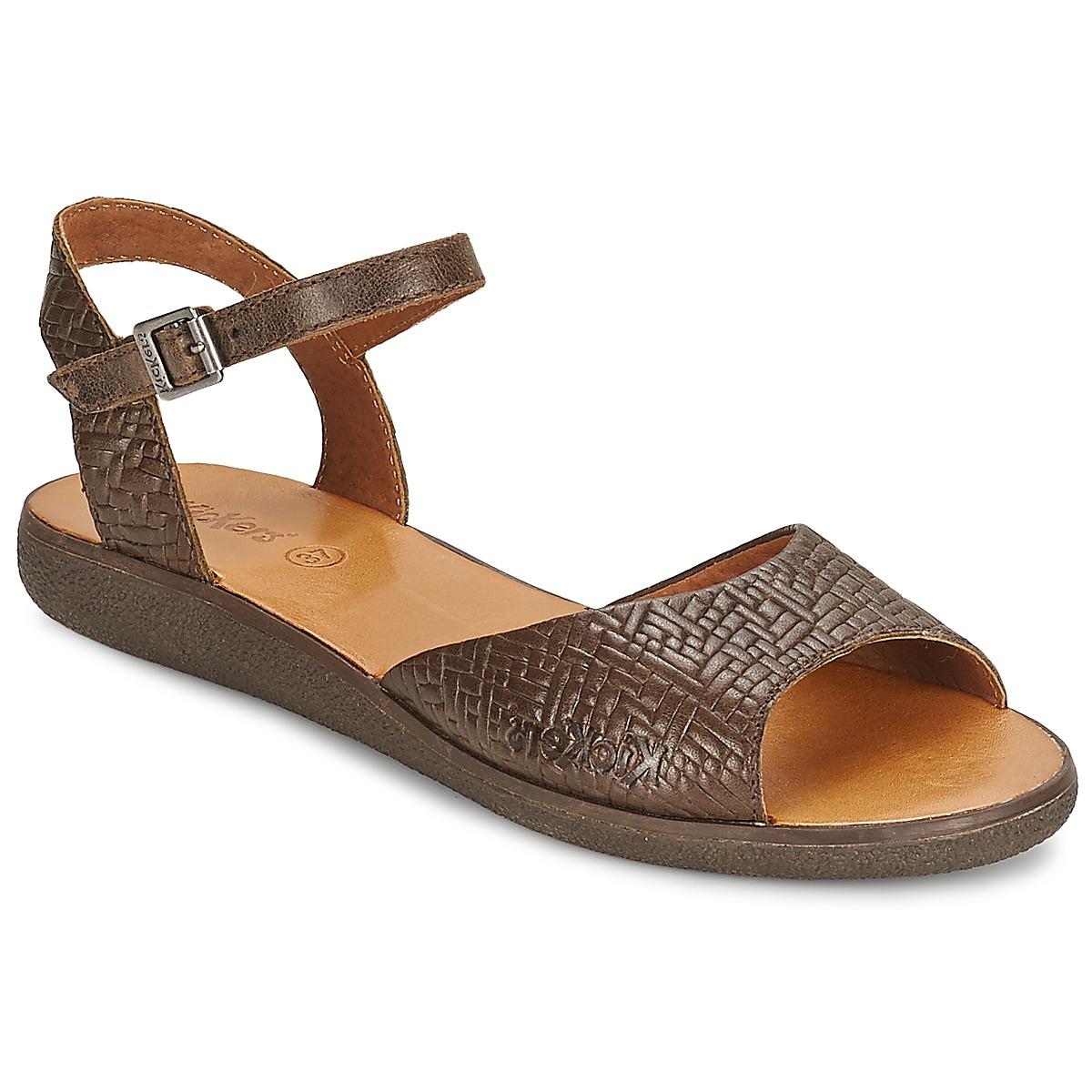 Sandale Kickers HYPSY Marron