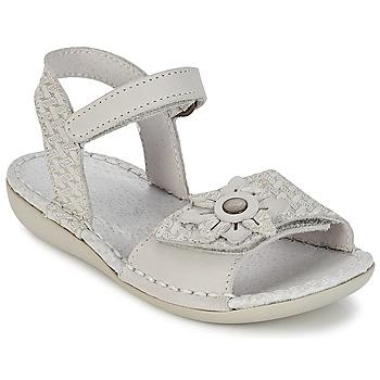 Sandale Kickers EVANA Blanc cassé 350x350