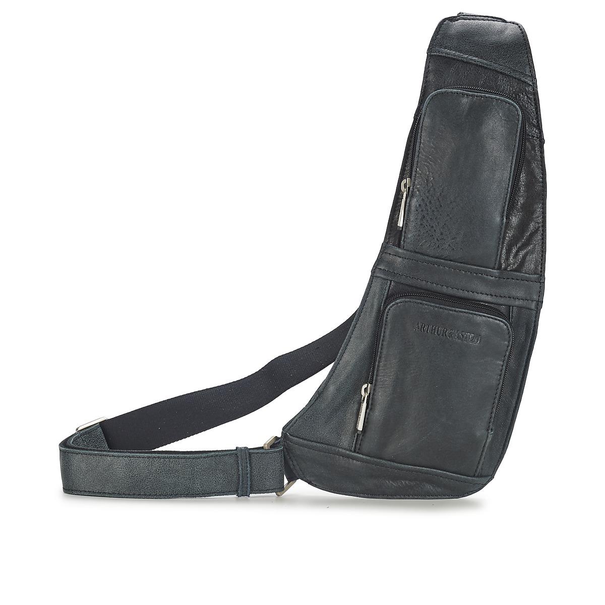 arthur aston miguel noir livraison gratuite avec sacs pochettes sacoches. Black Bedroom Furniture Sets. Home Design Ideas