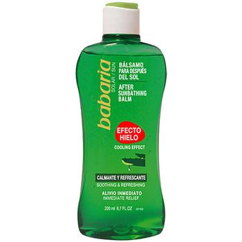 Beauté Produits bains Babaria Solar Aloe Vera After Sun Gel Efecto Hielo  200 ml