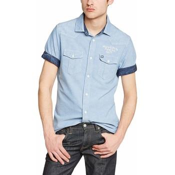 Vêtements Homme Chemises manches courtes Petrol Industries MSS15SHS408 Bleu
