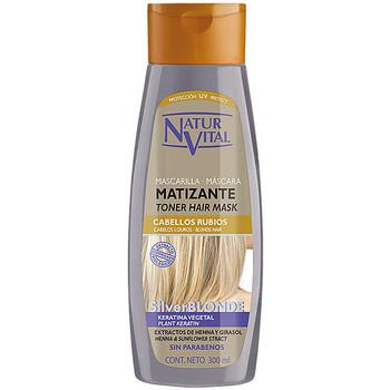 Beauté Femme Soins & Après-shampooing Natur Vital Masque Matizante Silver Blonde