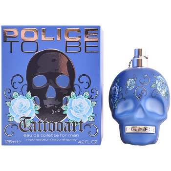 Beauté Homme Eau de toilette Police To Be Tattoo Art Edt Vaporisateur  125 ml