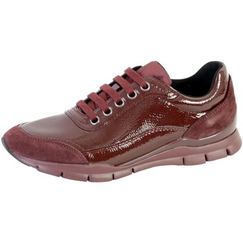 Chaussures Femme Baskets basses Geox Basket D Sukie B Rouge
